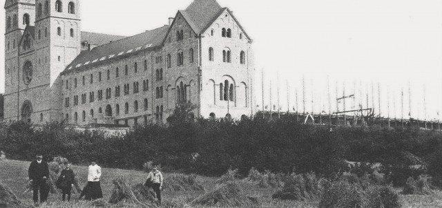 Abtei Gerleve, Baugeschichte